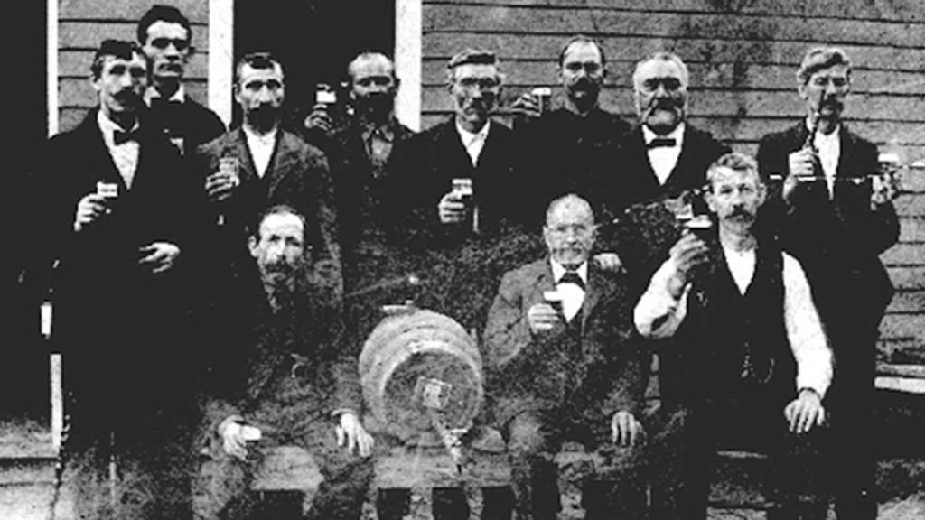 Corning's German Beer Drinking Club circa 1910 (LCBD Archive)