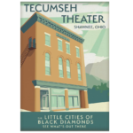 13x19 Poster of the Tecumseh Theater
