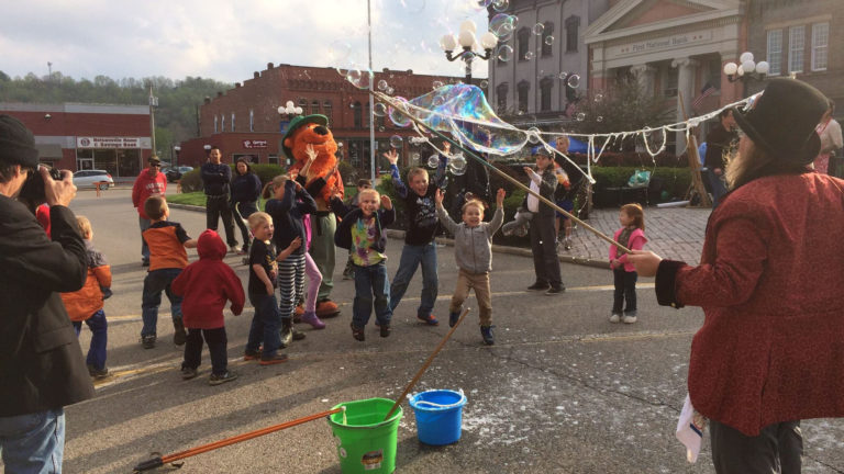 Appalachian Spring on the Nelsonville square (2014)